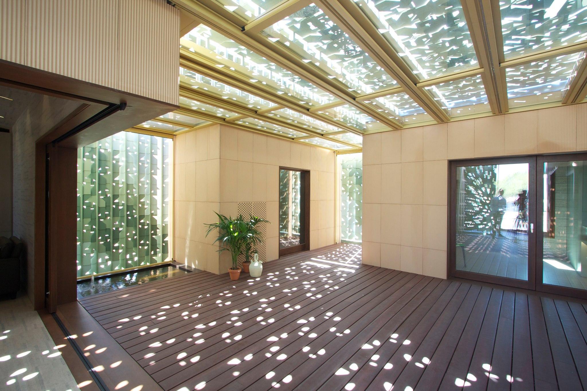 Un instante en patio blog javier terrados - Casas con patio interior ...